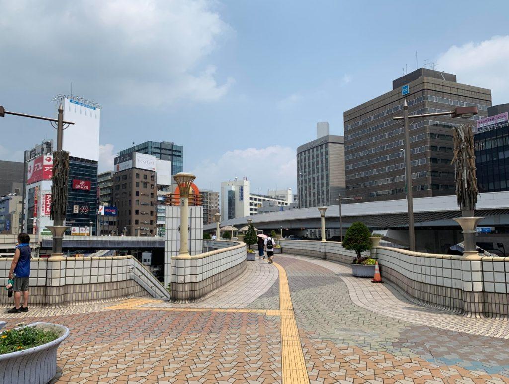 上野駅ペデストリアンデッキ