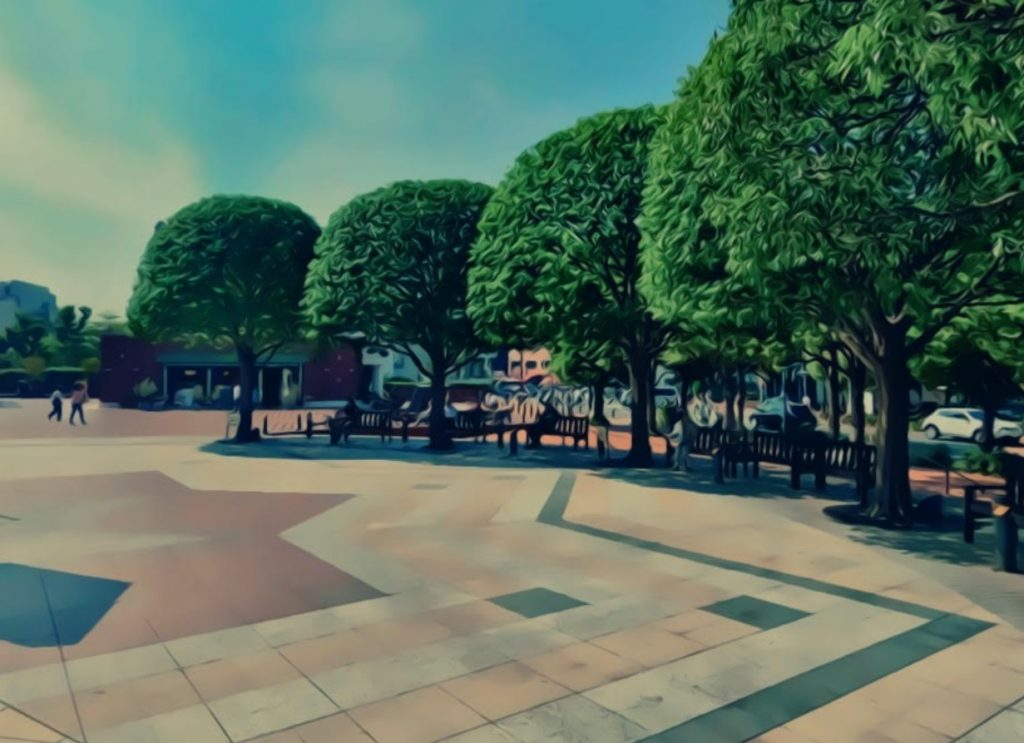 恵比寿ガーデンプレイスの時計広場