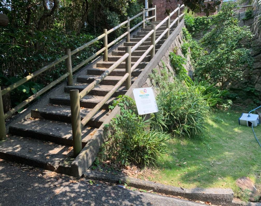 足摺岬の階段