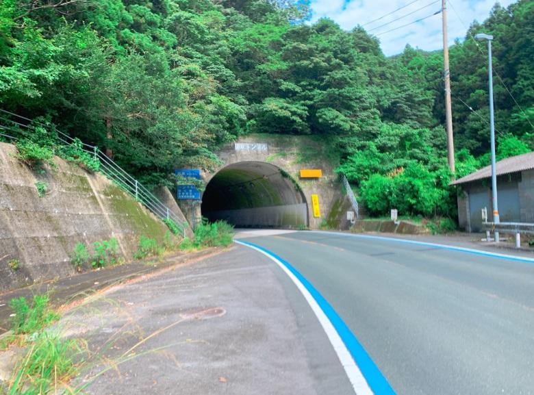 佐田岬メロディライン,トンネル