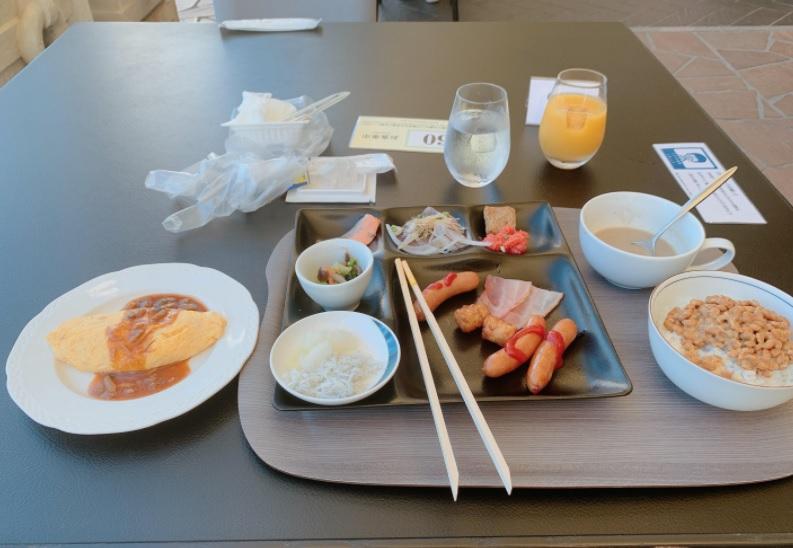 ホテル日航高知の朝食