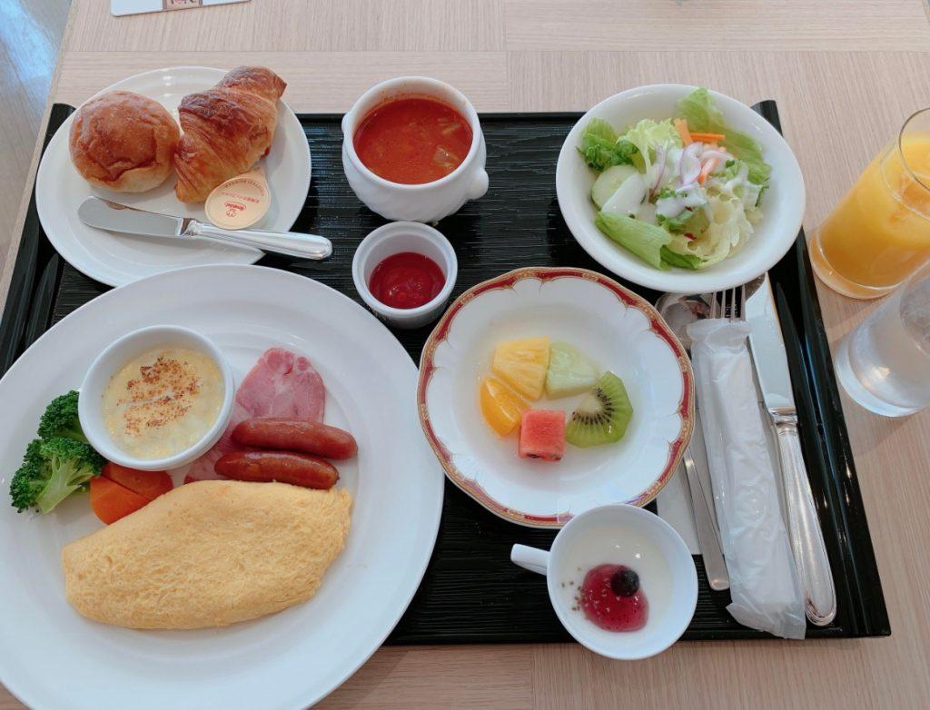 JRホテルクレメント高松の洋朝食