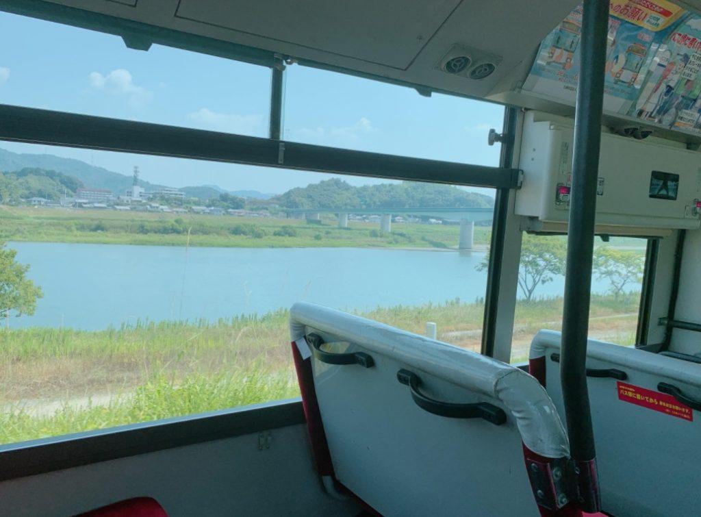 足摺岬行きのバス