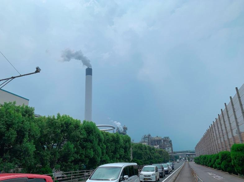 四国中央市の工場