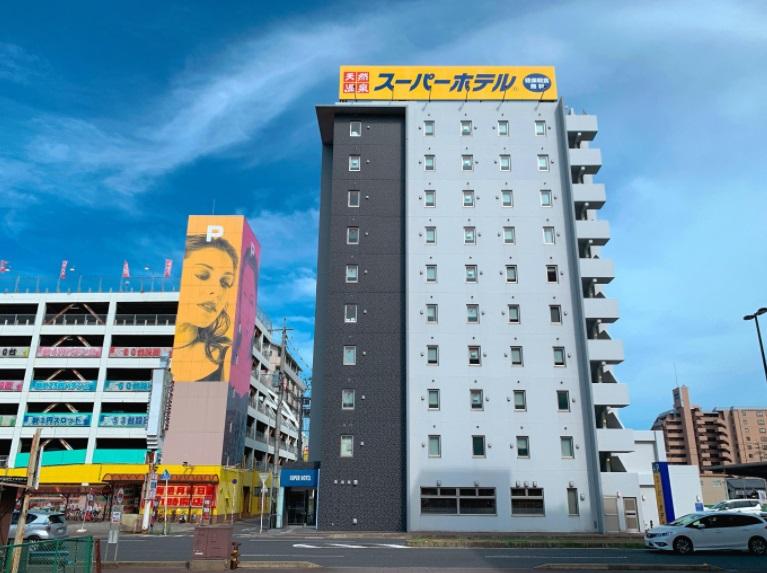 スーパーホテル中津駅前,外観