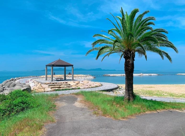 風早長浜海岸