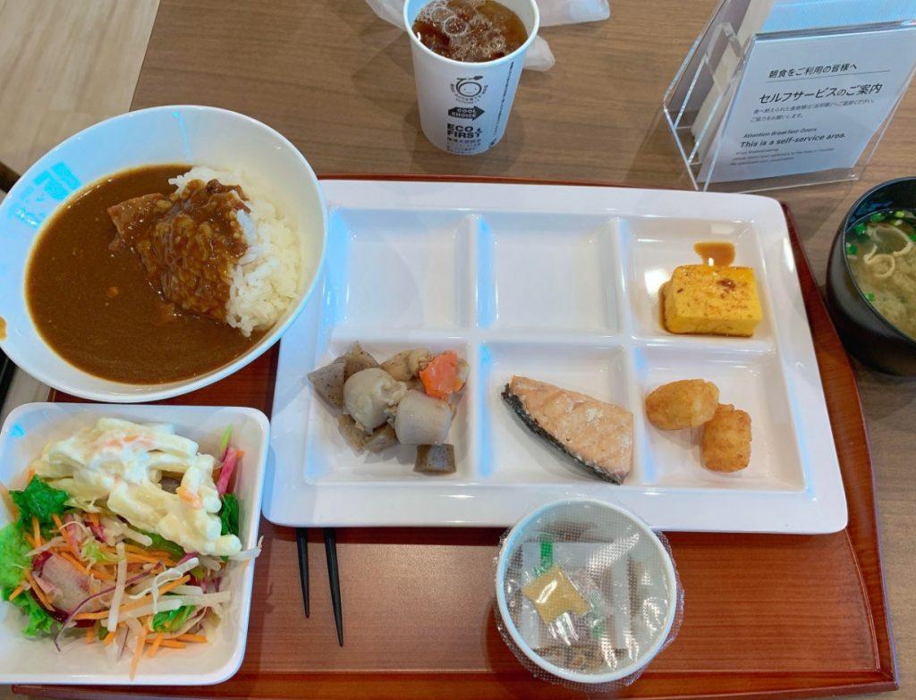 スーパーホテル丸亀駅前の朝食