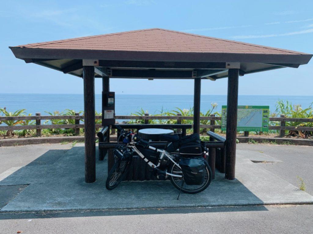 白浜海岸の休憩スポット