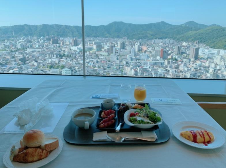 ホテル日航高知の朝食ブッフェ
