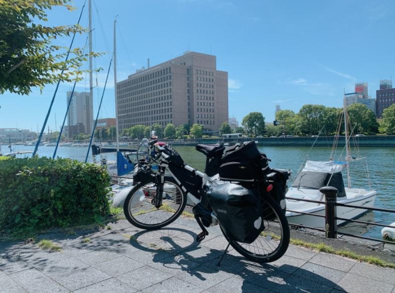 徳島県庁前
