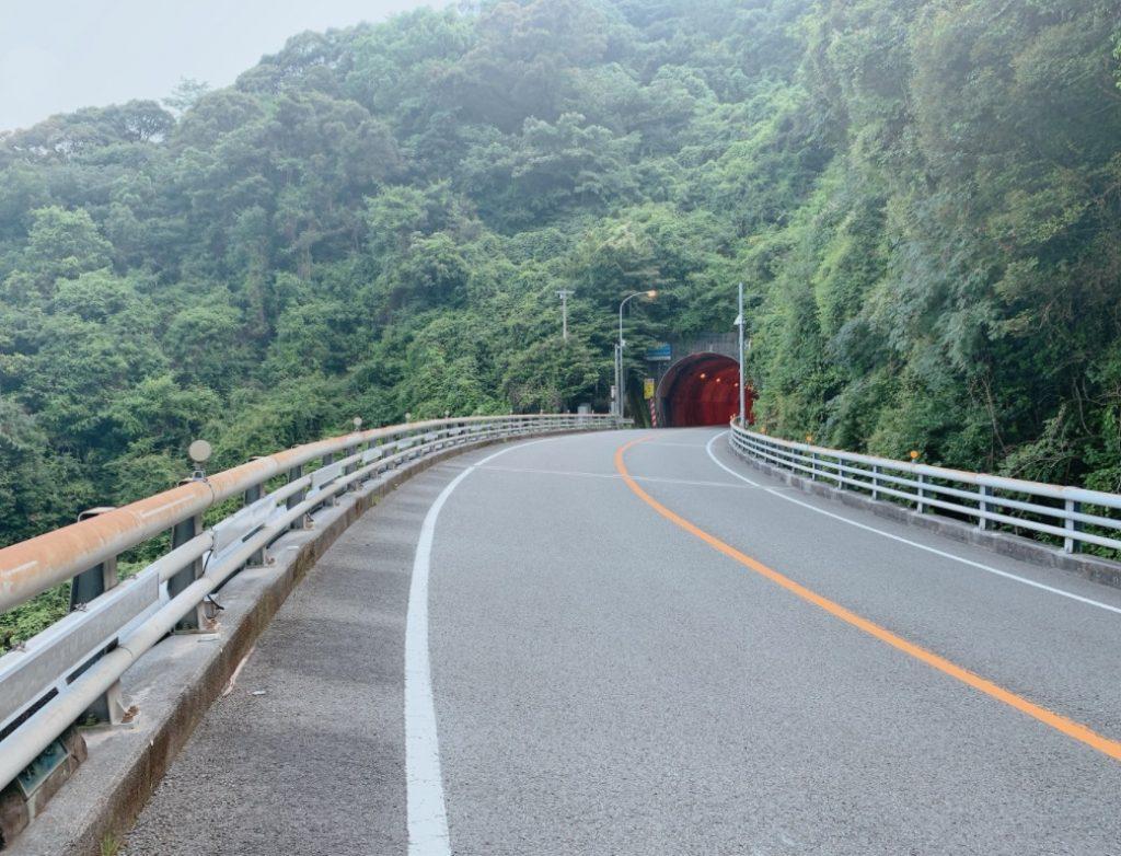 久礼第三トンネル