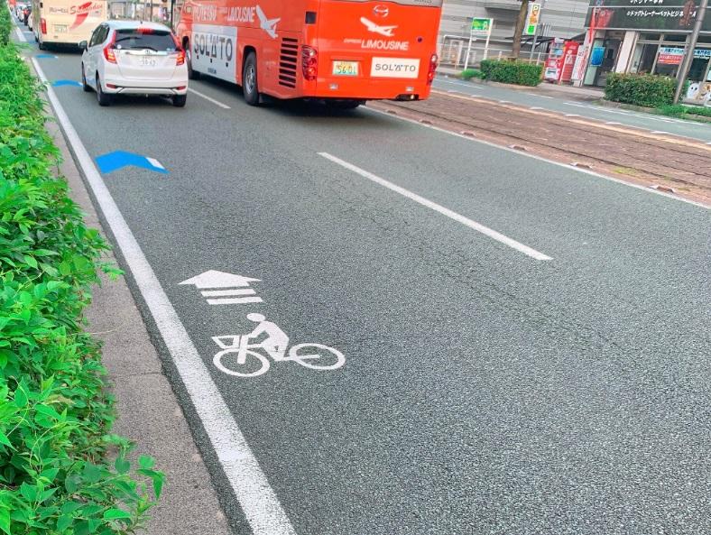 松山市,自転車道