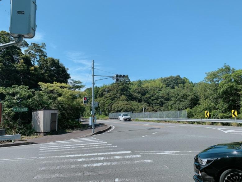 国道55号線,バイパス入口