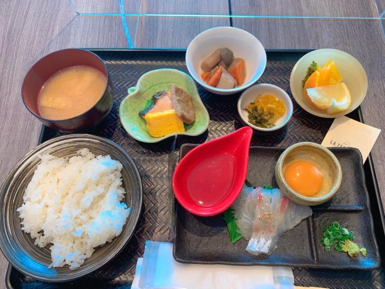 ホテルマイステイズ松山の和朝食