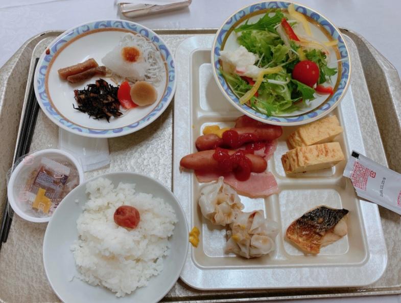 徳島グランヴィリオホテルの朝食