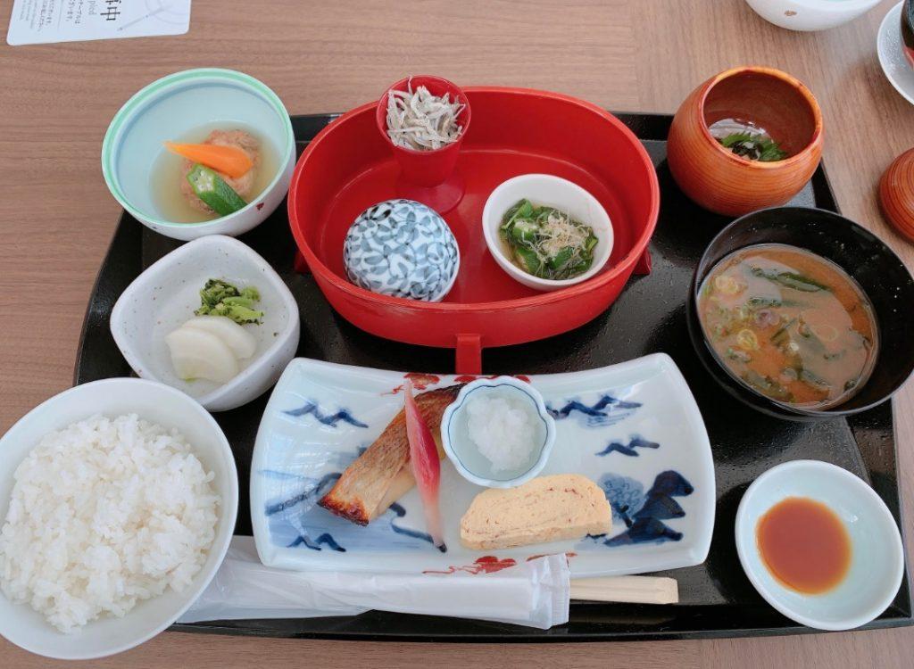 JRホテルクレメント高松の和朝食