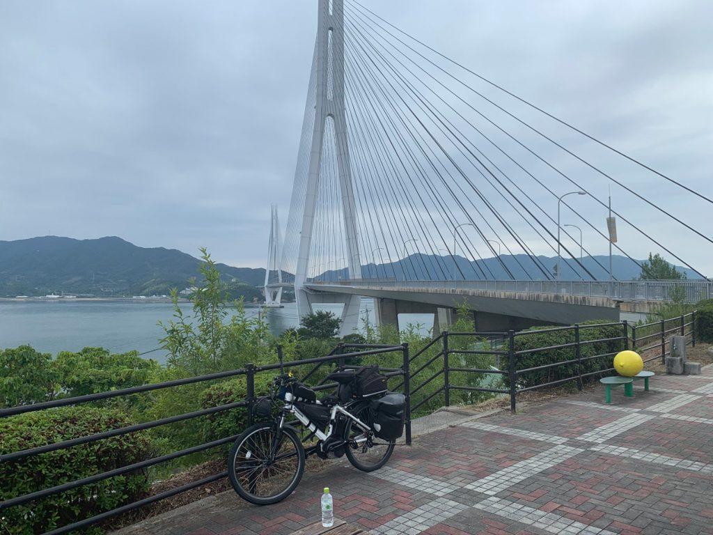 生口島の休憩所