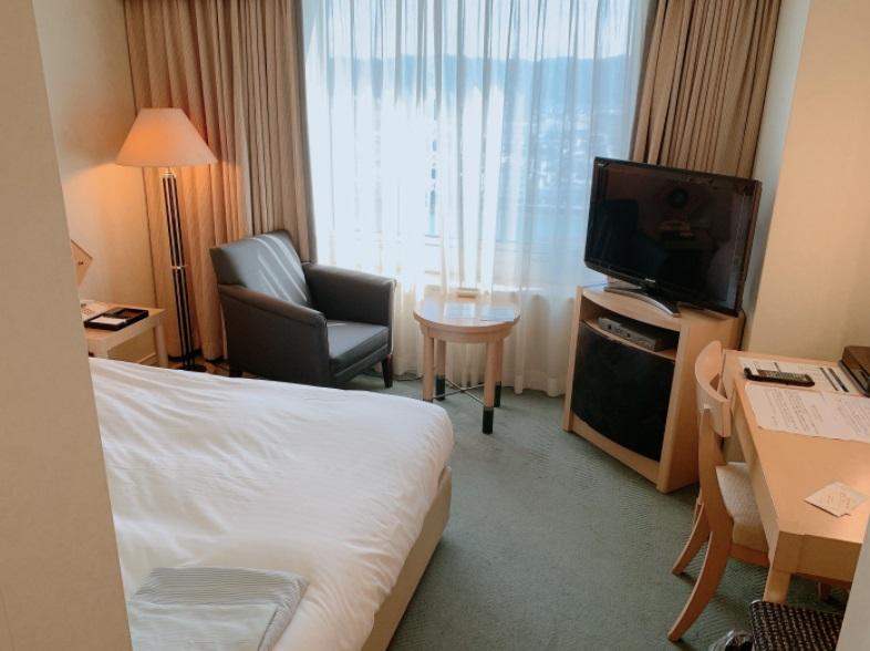 ホテル日航高知,部屋