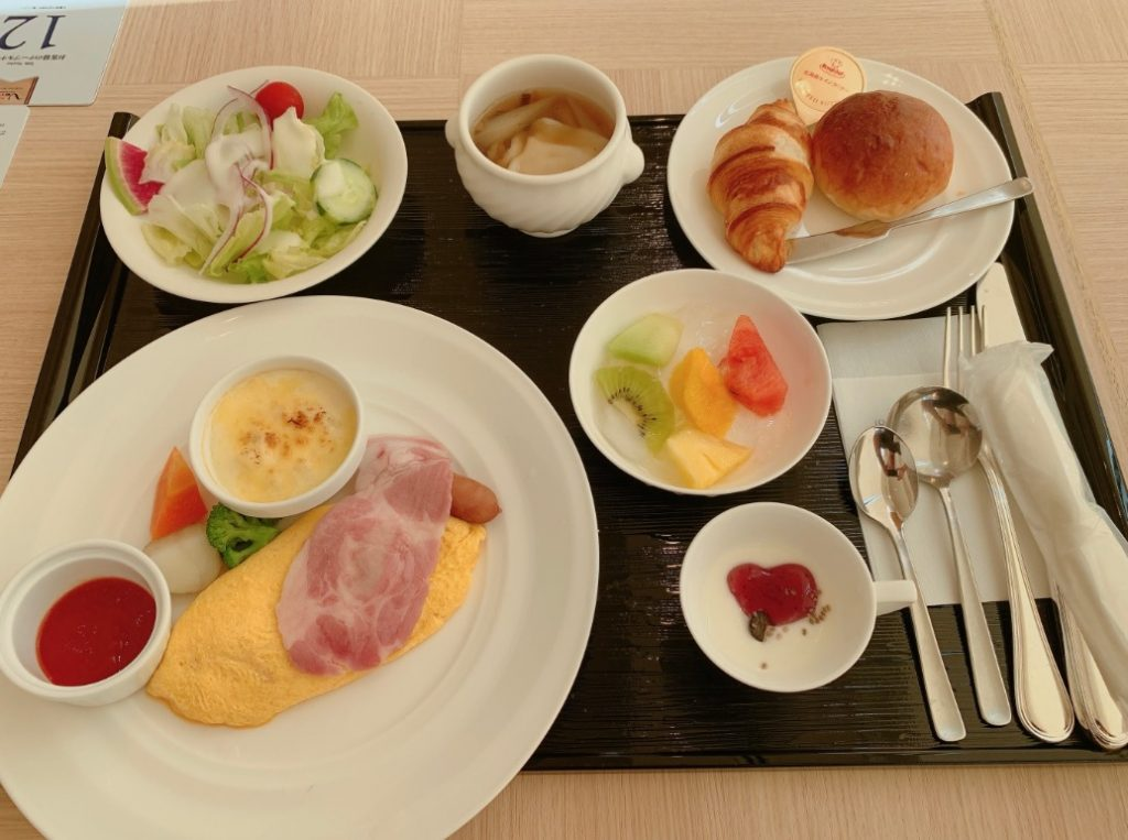 JRホテルクレメント高松,洋朝食