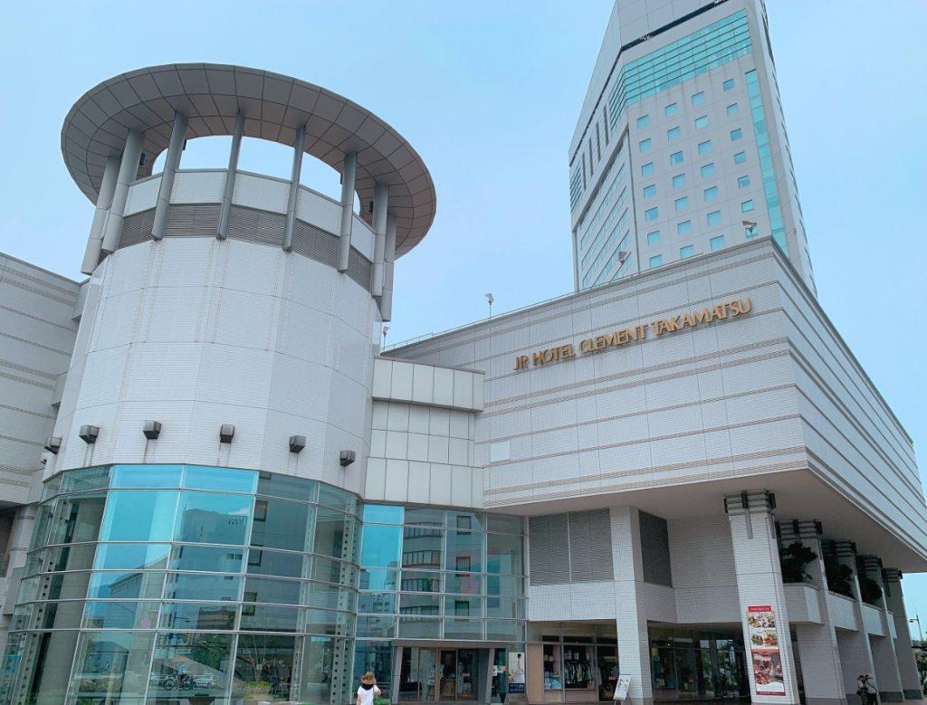 JRホテルクレメント高松,外観