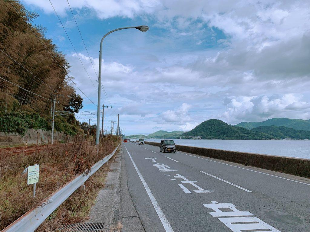 柳井市,国道188号線