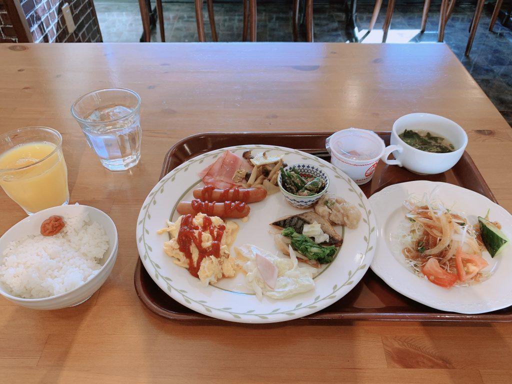 サンホテル福山の朝食