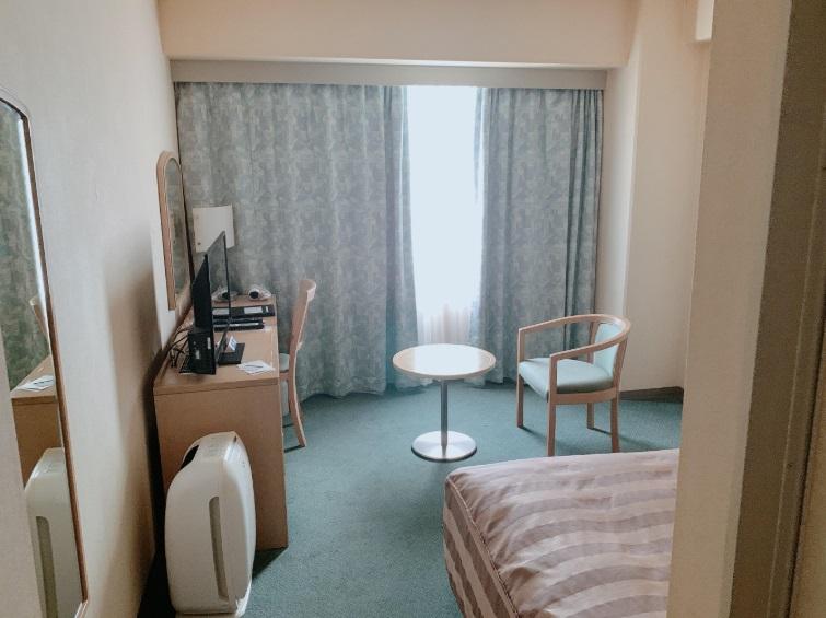 徳島グランヴィリオホテル,部屋