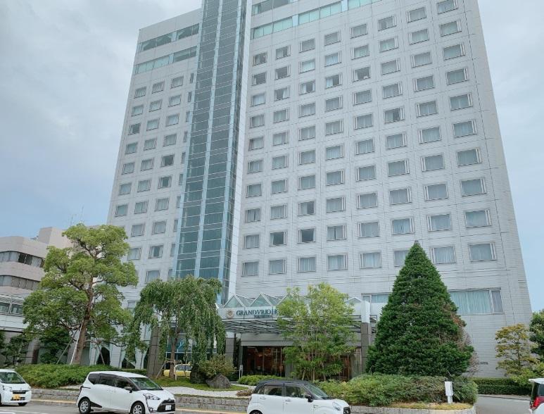 徳島グランヴィリオホテル,外観