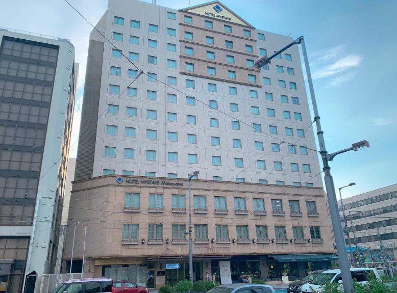 ホテルマイステイズ松山,外観