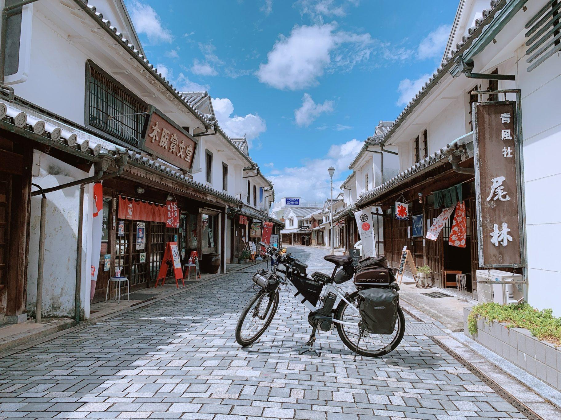 柳井,白壁の町並み