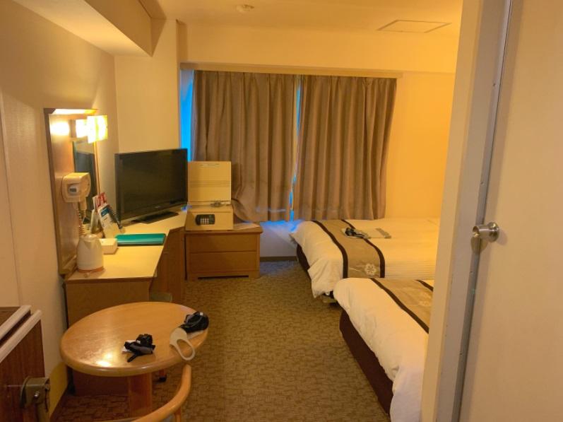 ハーバープラザホテル,部屋