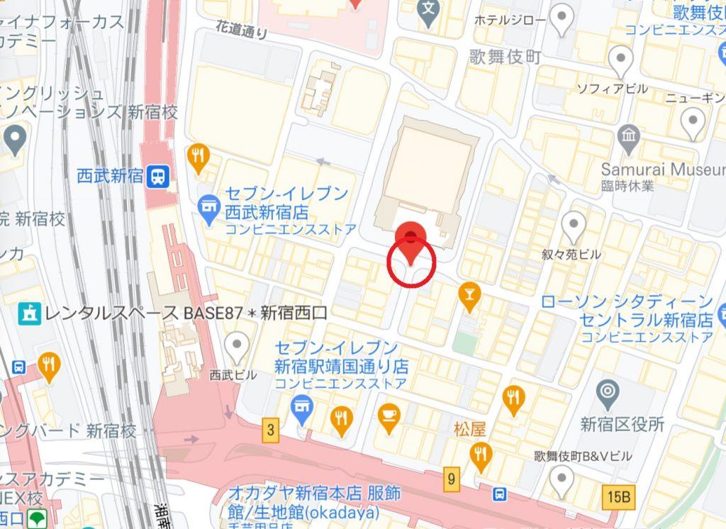 TOHOシネマズ新宿前