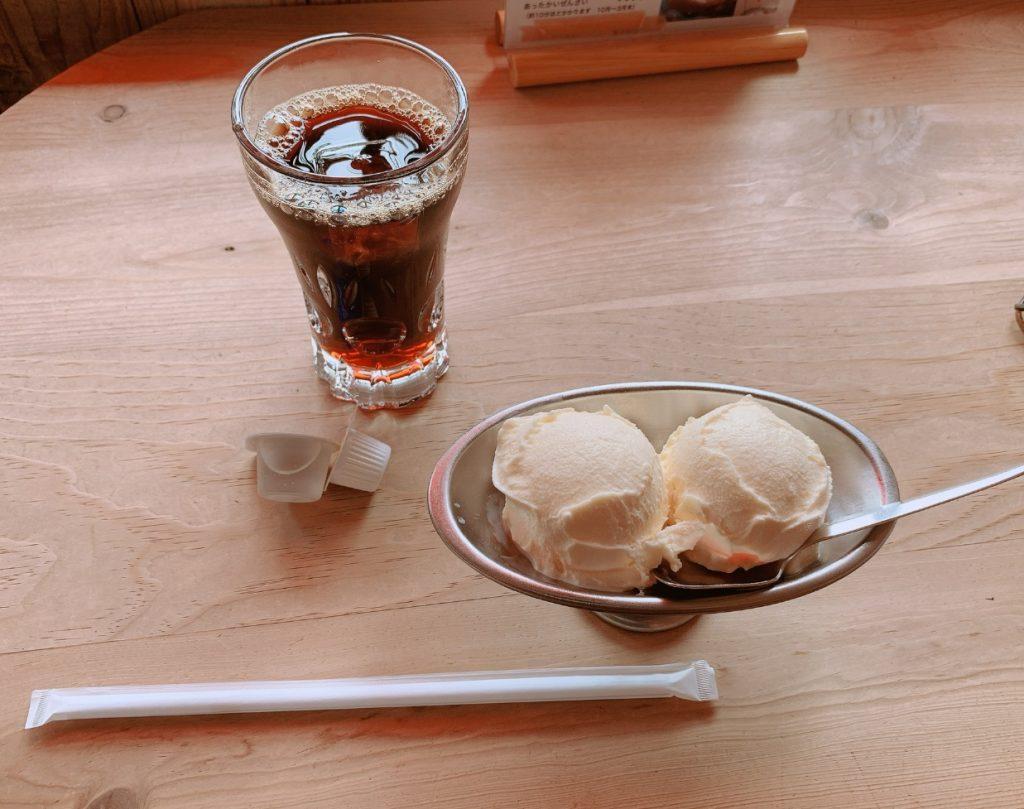 からさわ,アイスクリーム,アイスコーヒー